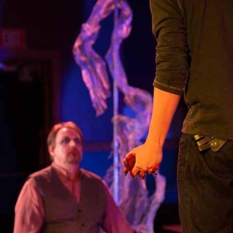 Brave Spirits Theatre. 'Tis Pity She's a Whore. Directed by Charlene V. Smith. Photo by Claire Kimball.
