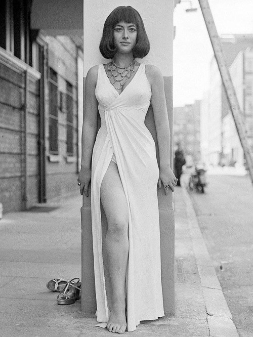 Helen Mirren as Cleopatra in 1966